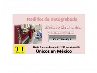 Rodillos Rotograbado