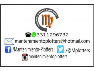 Mantenimiento plotters